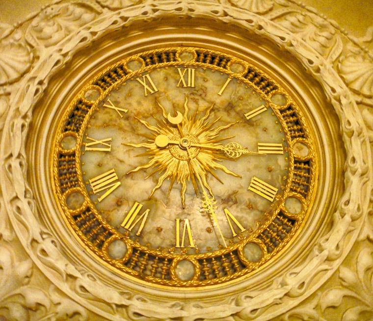 Flagler College Thomas Edison Clock Onyx