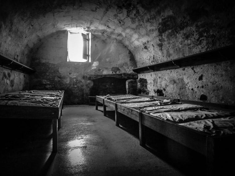 Fort Castillo de san marcos barrack beds