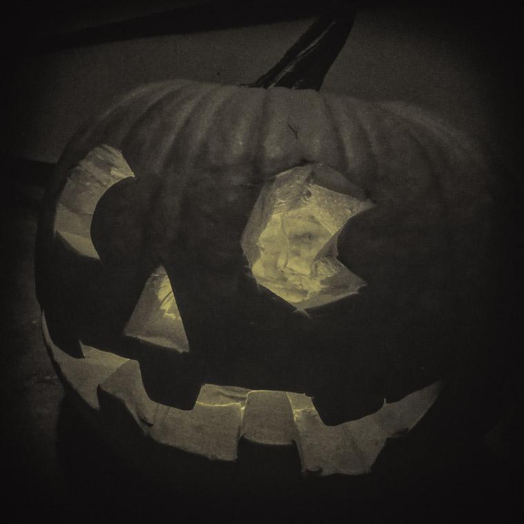 Pumpkin Jack-o-lantern