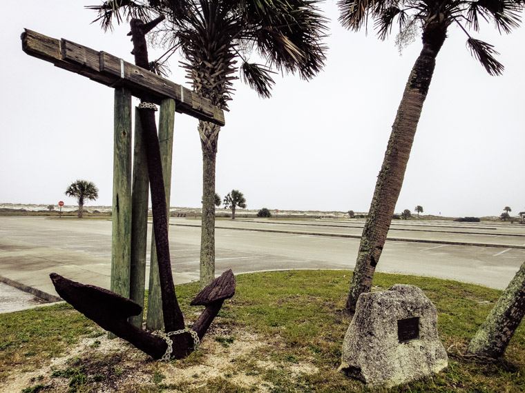 Old Rusty Anchor at Anastasia State Park