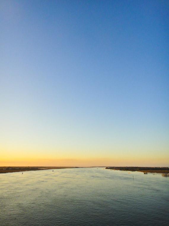 Vilano Bridge Sunset View
