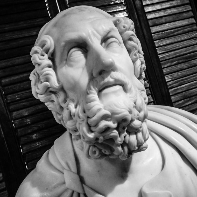 Homer Statue at Lightner Museum