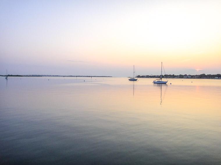 Intracoastal Sunrise Sailboats