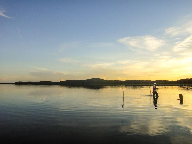 Fishing at Guana Sunrise