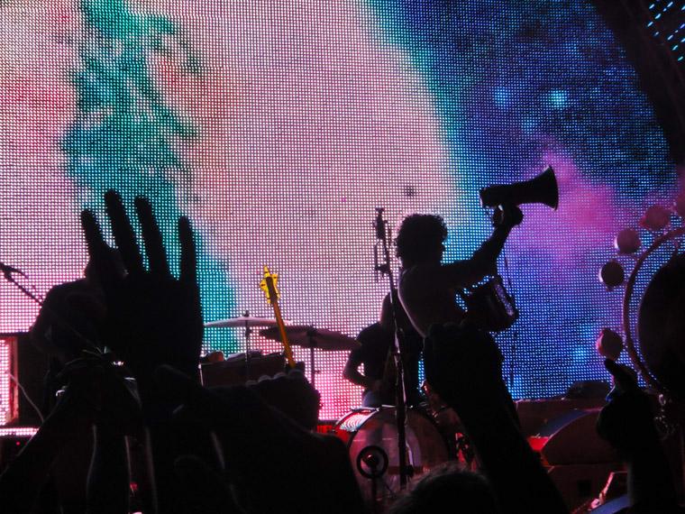 Flaming Lips concert megaphone