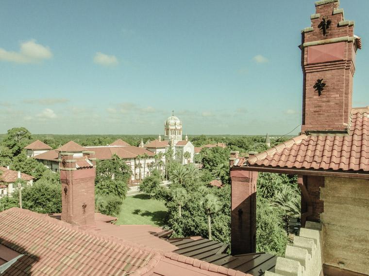 Memorial Presybeterian from Flagler College rooftop
