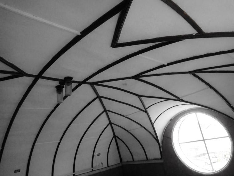 Lightner museum sauna ceiling
