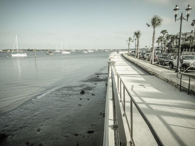 Bayfront seawall