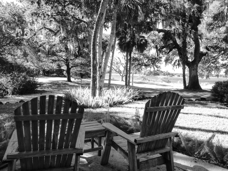 Washington Oaks State Park Chairs