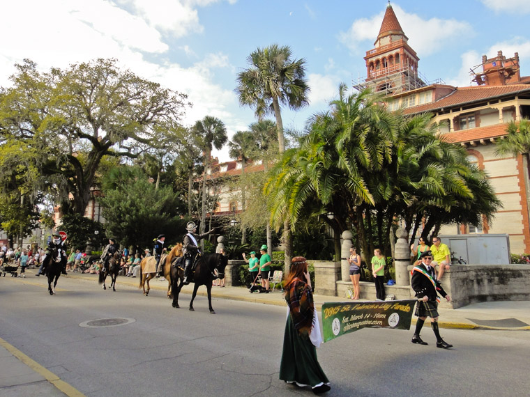 St Patrick's Day Parade by Flagler