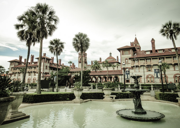 Flagler College Fountain