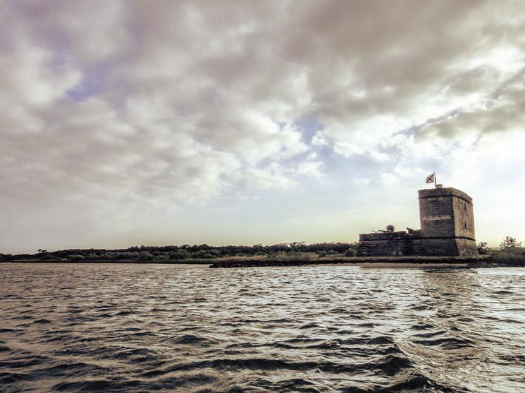 Fort Matanzas intracoastal sky