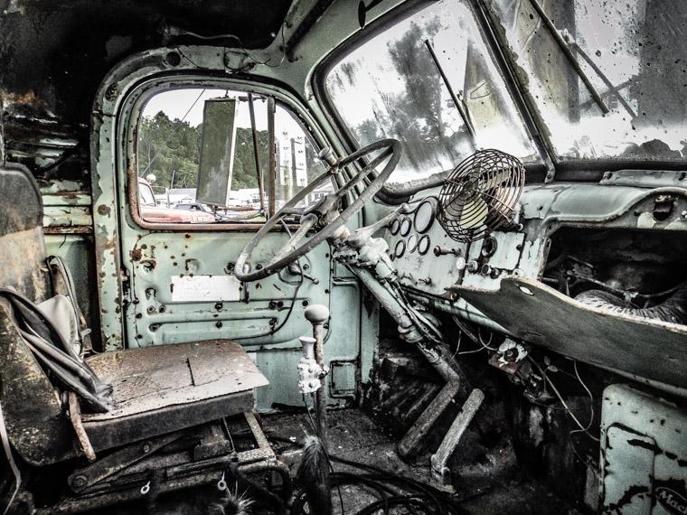 Smokin D's Truck Interior Grunge Rust