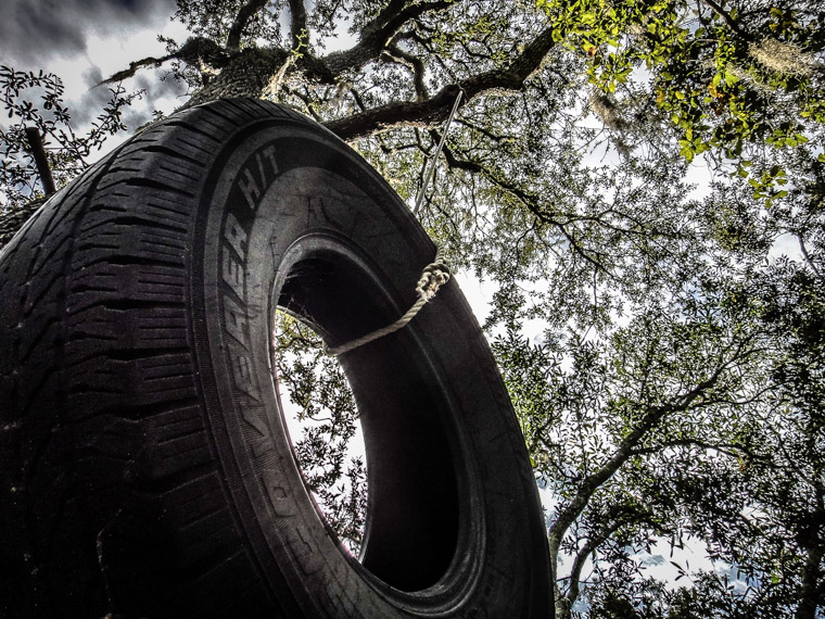 Tire Swing at Moses Creek