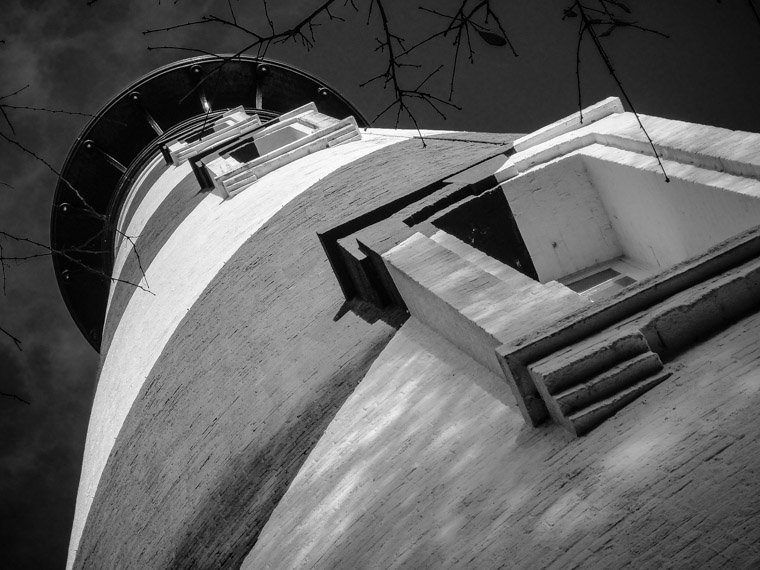 Lighthouse from low angle