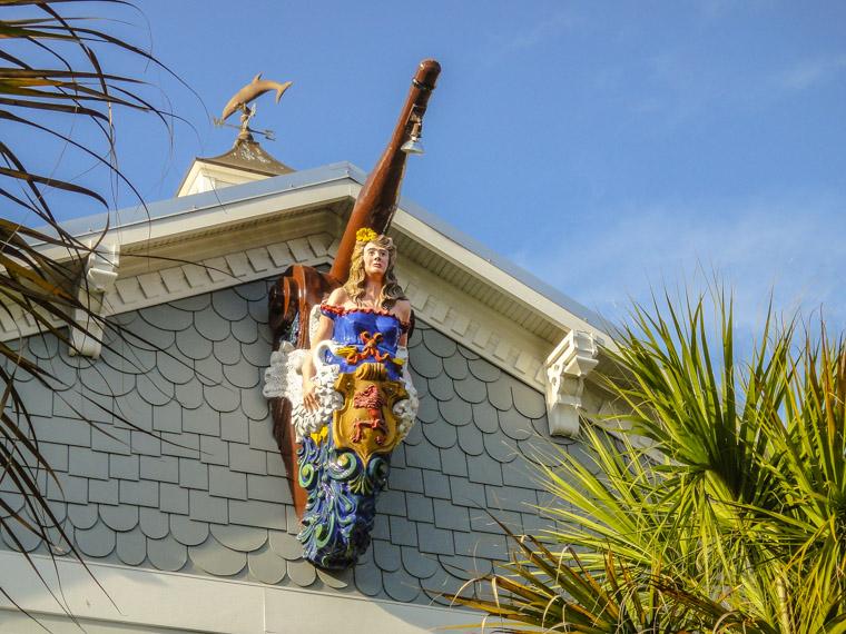 Bow Figurehead on House