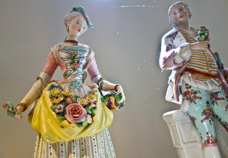 Lightner Museum ceramic sculpture