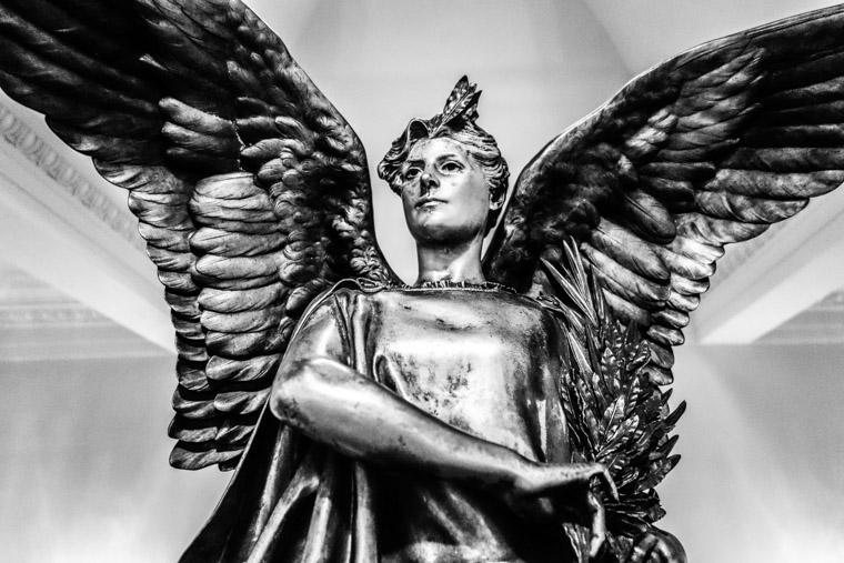 Lightner Museum Gilt Bronze Sculpture by Jules Leon Gerome 1870