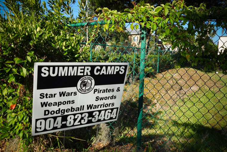 Star Wars weapons pirates and dodgeball summer camp