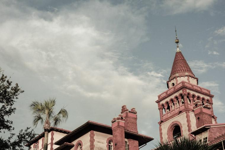 Flagler college roofline
