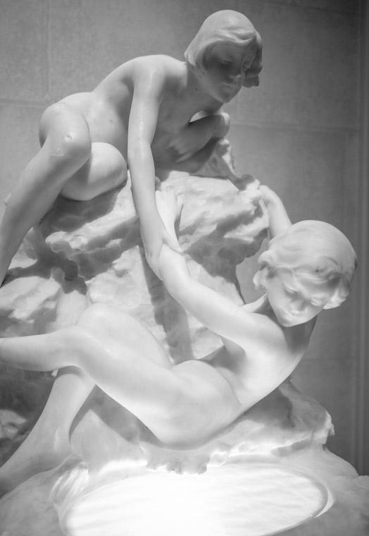Marble Sculpture at Lightner Museum