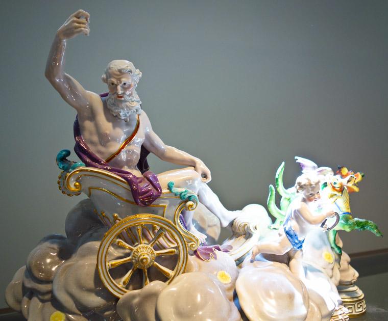 Lightner Museum Ceramic Saturn