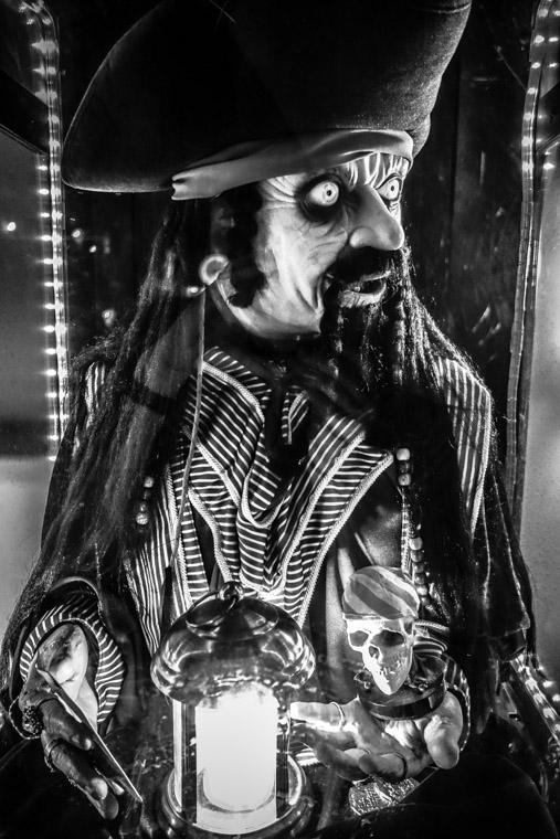 Pirate fortune teller machine