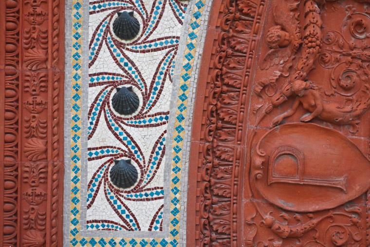 Hotel ponce de leon flagler college mosaic detail