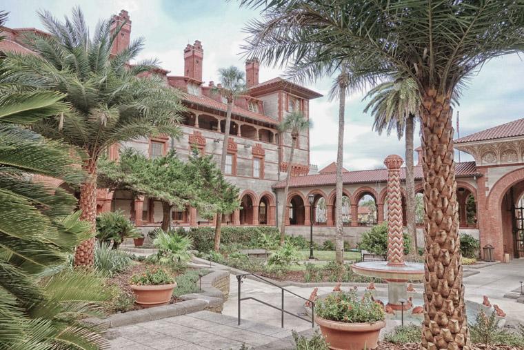 Flagler college hotel ponce de leon