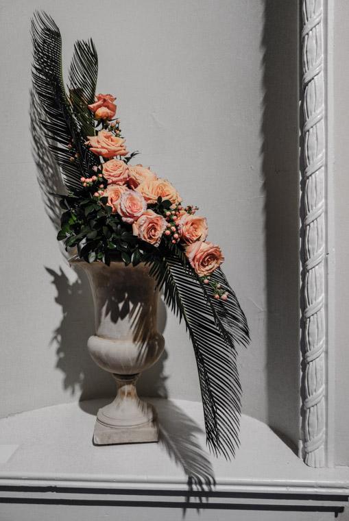 Lightner Museum Garden Club flower display
