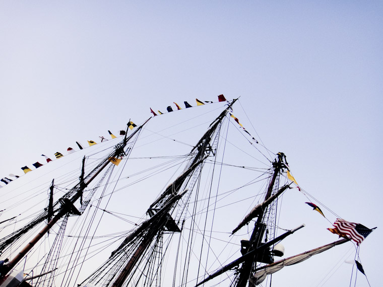 Ship nautical flags