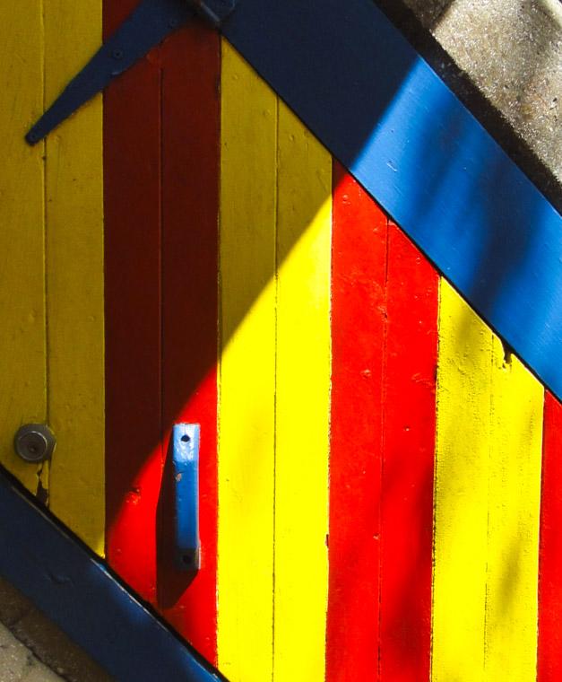 Villa Zorayda Colorful Door