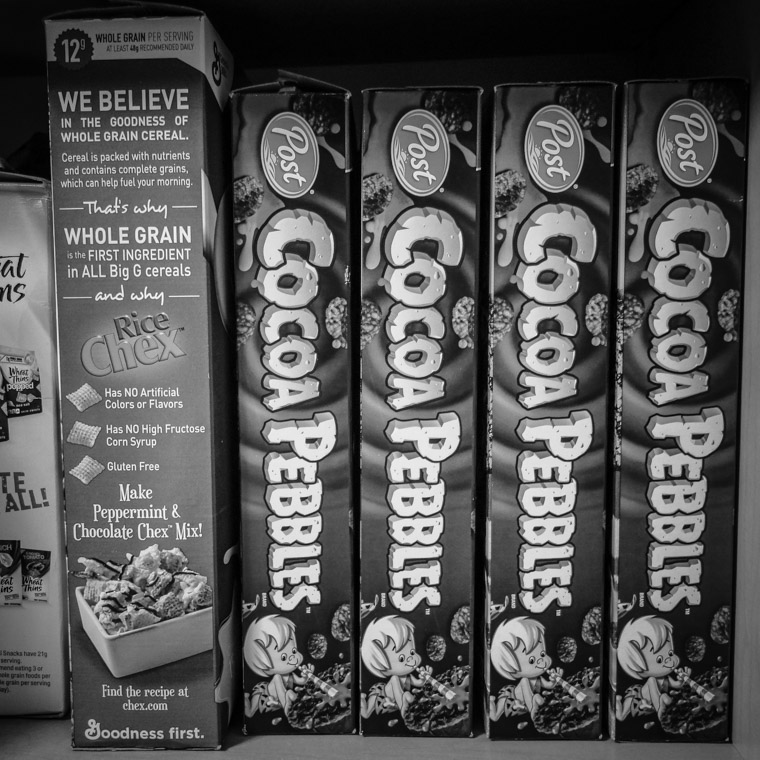 Cocoa Pebbles Breakfast Cereal