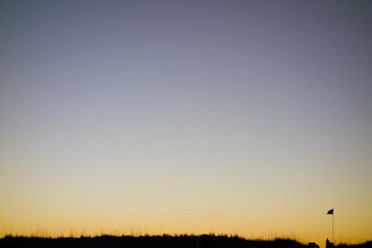 Anastasia State Park Sunset