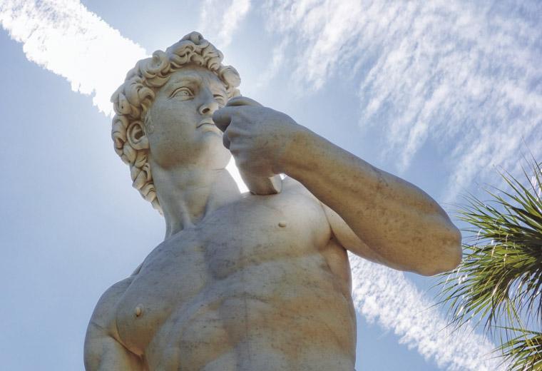 David Statue sculpture