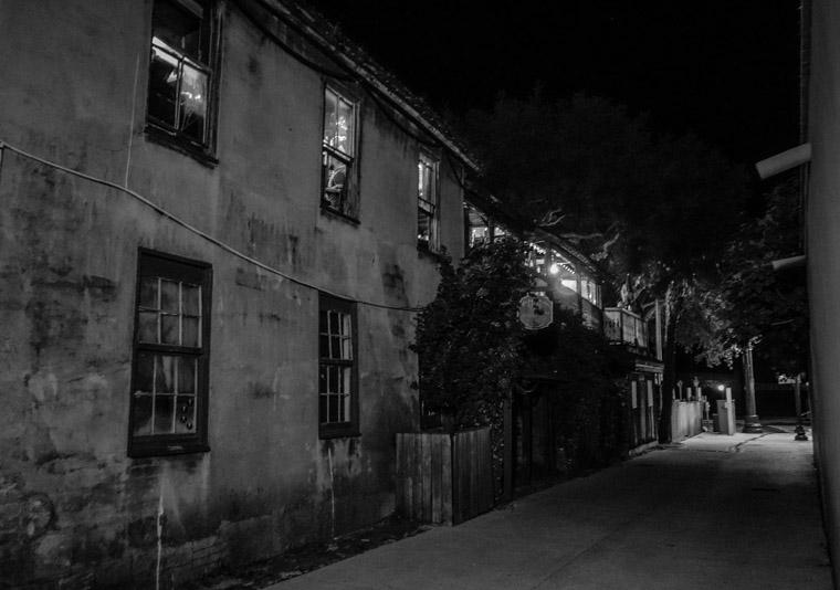 Milltop tavern Bar at night