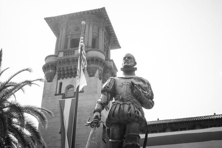 Pedro Menendez Lightner Museum Statue