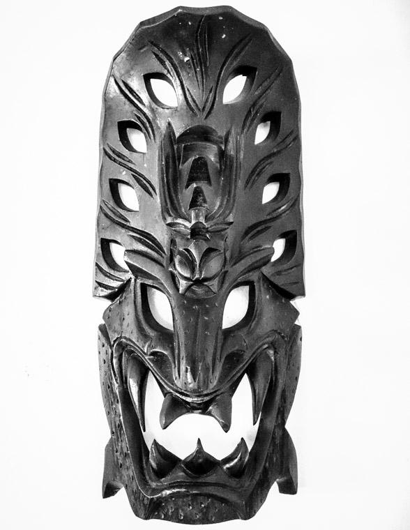 Mask from Washington Oaks State park