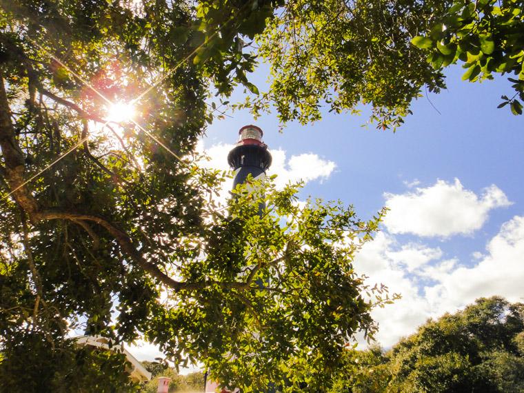 Lighthouse sunshine