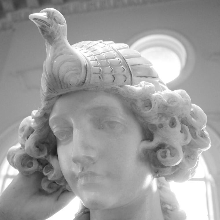 Lightner Museum Marble Sculpture