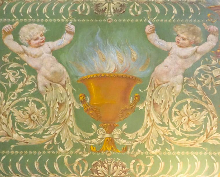 Flagler College Dining Hall Mural