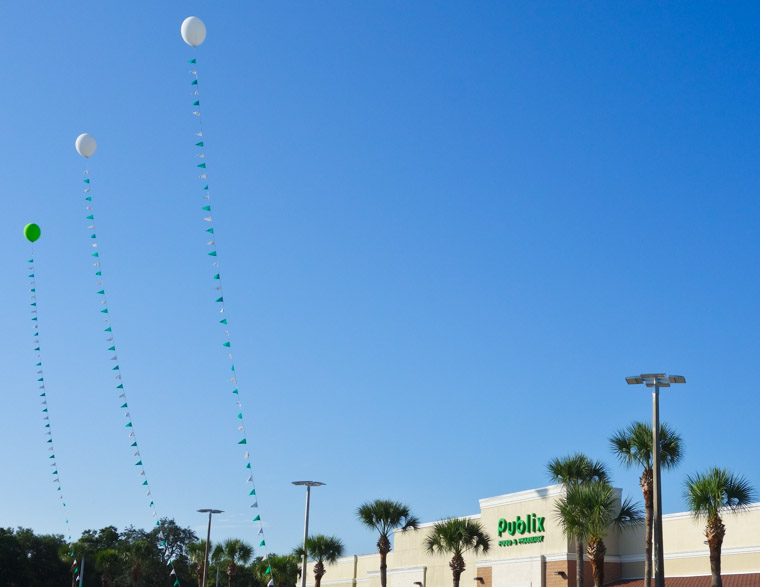 Wildwood Publix Grand Opening Balloons