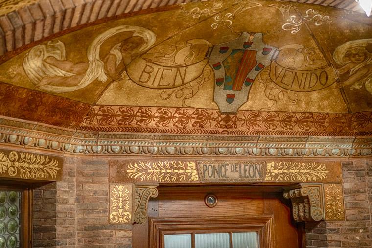 Flagler College entrance mural