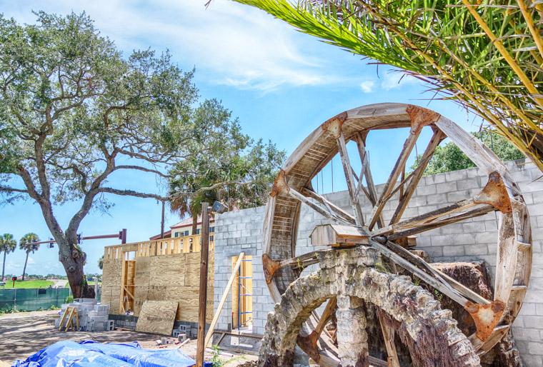 Milltop tavern construction restoration project