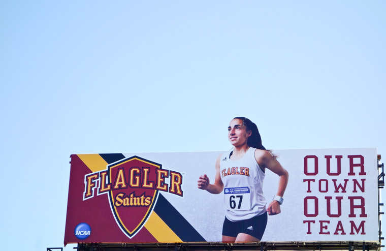 Flagler College Athletics Cross Country Billboard
