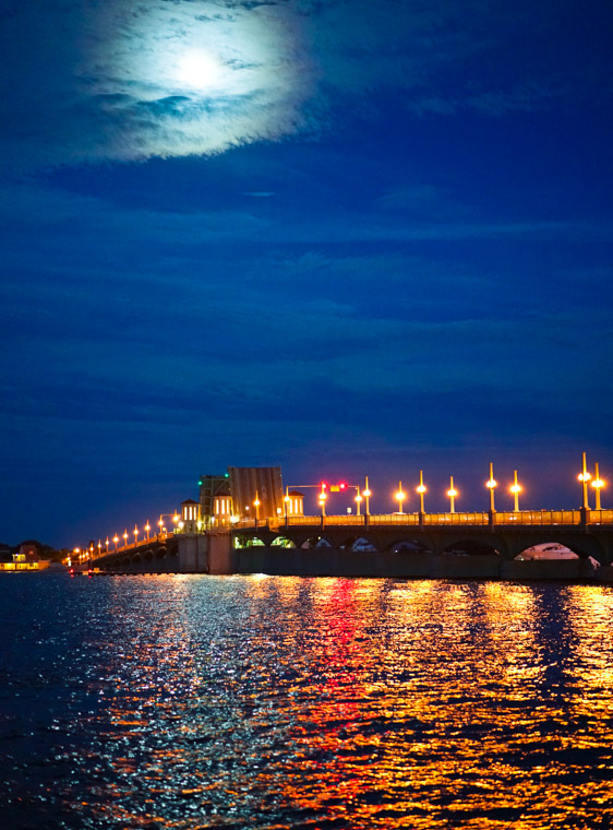 Bridge of Lions Moonlight