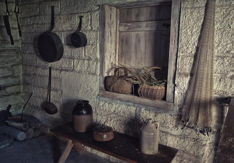 Ximenez-Fatio House kitchen