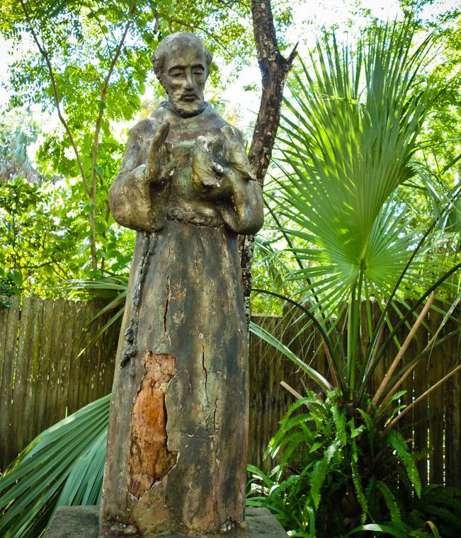 St Francis park Sculpture