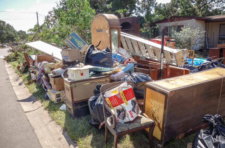 Hurricane matthew water damage