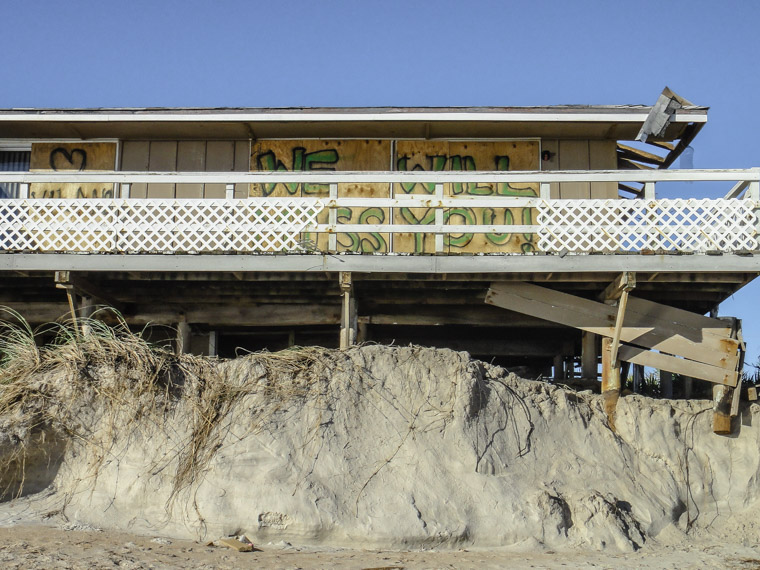 Vilano beach hurricane matthew erosion